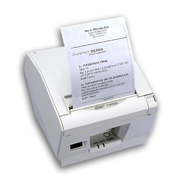 prescription printer